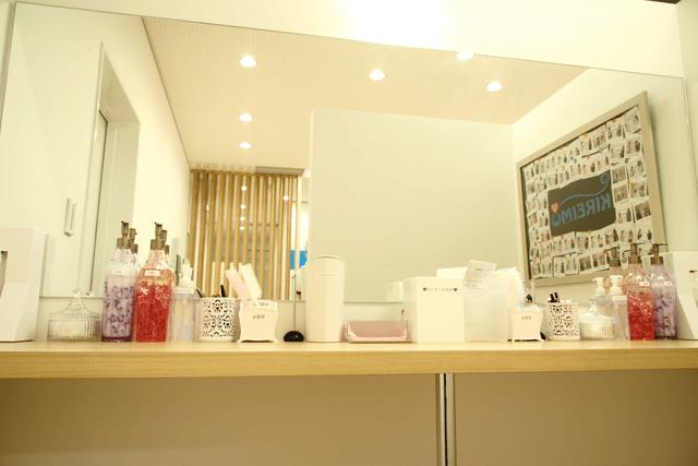 キレイモ新潟万代店の雰囲気